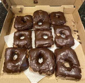North Lime Donuts - Chocolate Iced Donut from North Lime Coffee and dontus