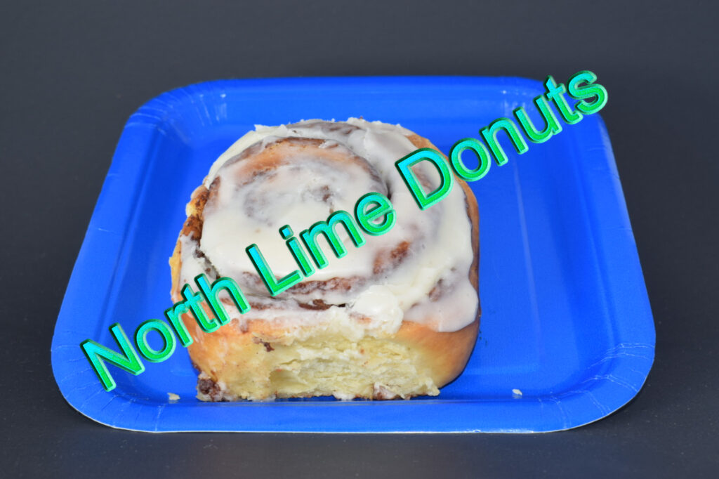 North Lime Coffee and Donuts - Cinnamon Roll